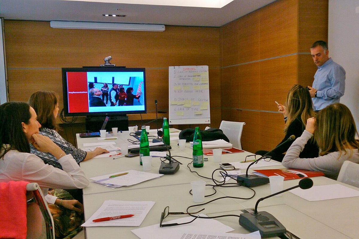 Barometro all'impatto e vincoli delle PMI per la formazione
