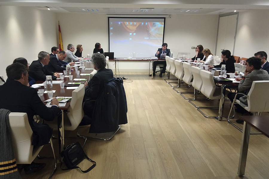 The Regional Government of Navarre participates in the Seminar of support of Co.Tutor that organized the CNC, in a meeting with more than 20 representatives of companies